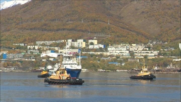 Военнослужащий использовал буксир Тихоокеанского флота для рыбалки