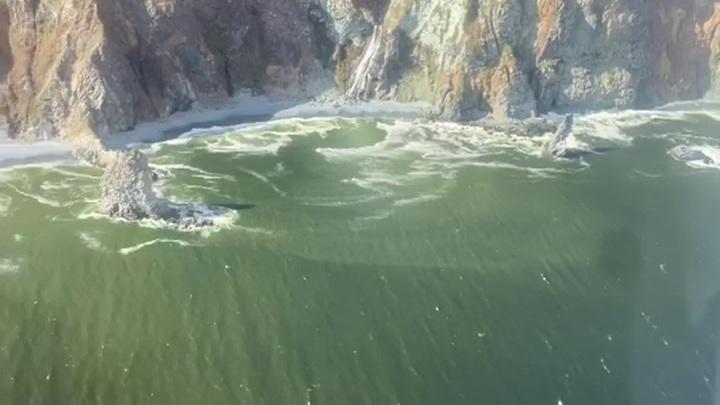 СК возбудил уголовное дело по факту загрязнения залива на Камчатке