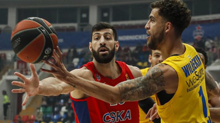 Баскетболисты ЦСКА одержали первую победу в Евролиге