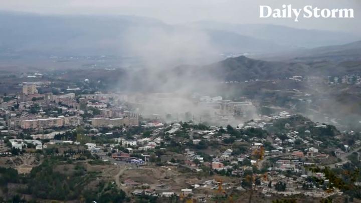 Красный Крест не может начать работу в Нагорном Карабахе