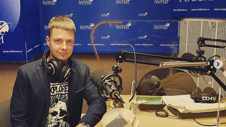 """Фёдор Святославович Сенатов в студии """"Радио России"""""""