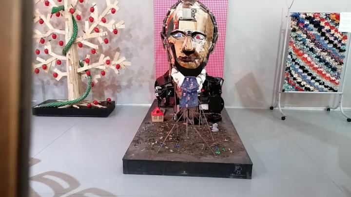 """Оптическая иллюзия """"Портрет известного человека"""""""