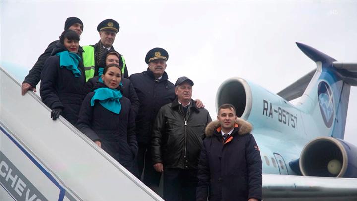 Ту-154 выполнил последний пассажирский рейс в России