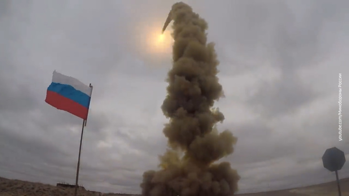 Военные показали пуск новейшей противоракеты