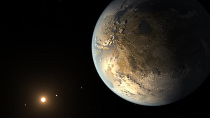 По расчётам учёных, в Галактике могут быть сотни миллионов пригодных для жизни планет.