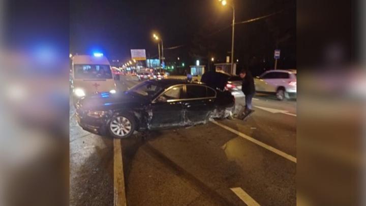 В ДТП на Кутузовском проспекте пострадал вице-премьер правительства