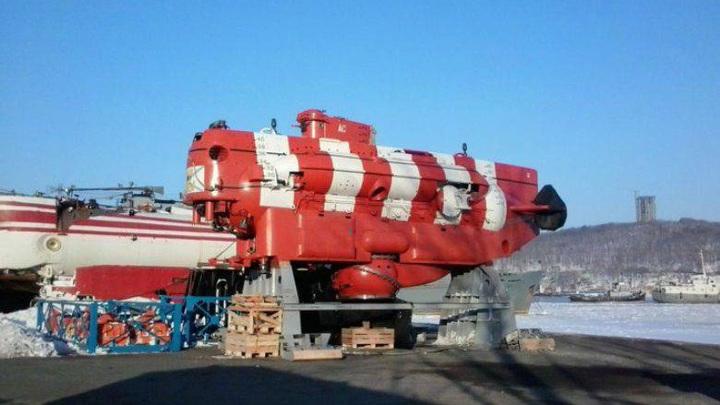 Российские военные создают арктический глубоководный аппарат