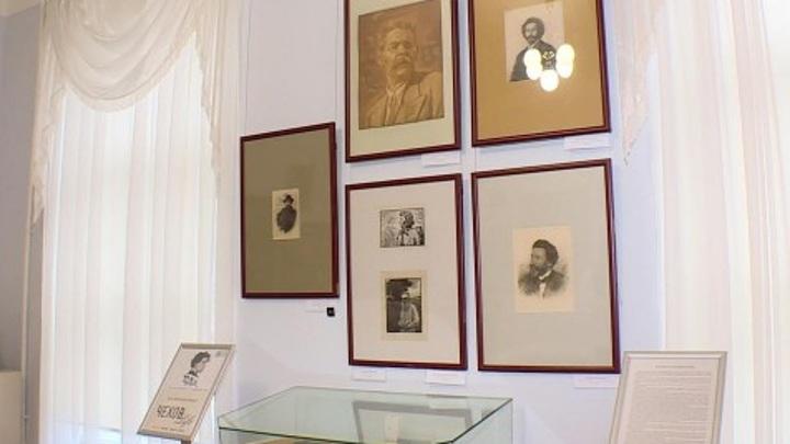 В Калужском музее изобразительных искусств открыли выставку к 160-летию Чехова