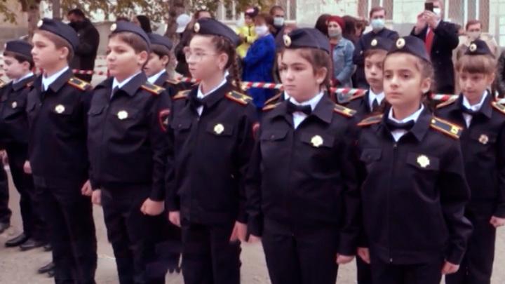 Первый кадетский класс полиции открылся в Нальчике
