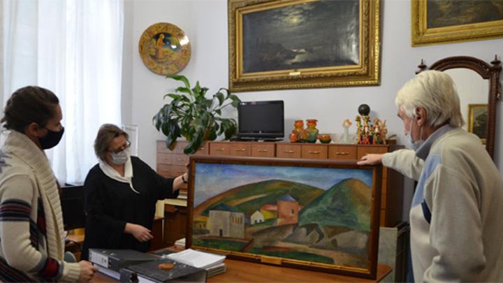 В Пензенскую картинную галерею прибыли полотна из Третьяковки