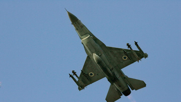 Истребители ЦАХАЛа обстреляли четыре объекта ХАМАС в Газе