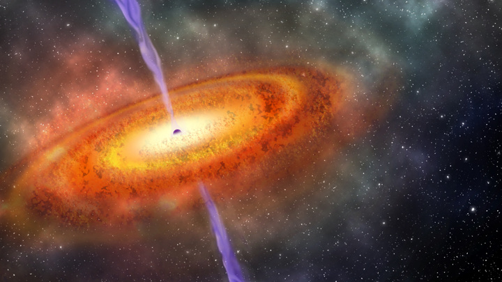 Земля оказалась ближе к огромной чёрной дыре, чем считали учёные.