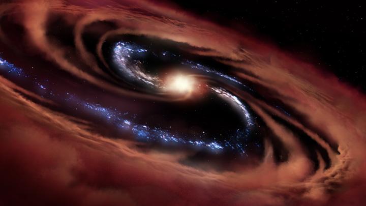 Астрономы обнаружили образование звёзд там, где это, казалось бы, невозможно.