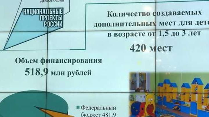 На Орловщине для увеличения мест в детсадах выделяется 520 млн рублей
