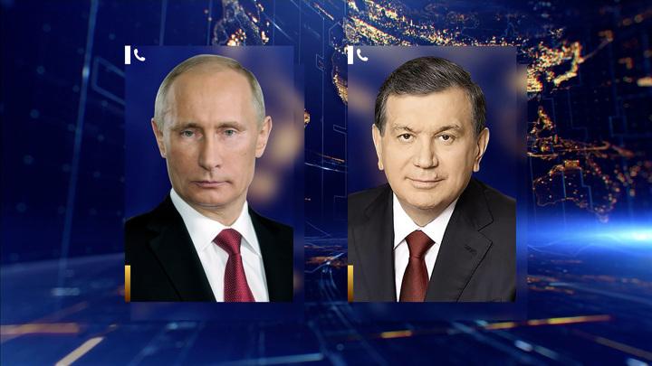 Путин и Мирзиёев обсудили по телефону борьбу с коронавирусом