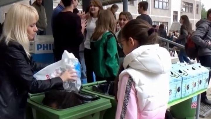 Владимирским школьникам дадут уроки разделения мусора