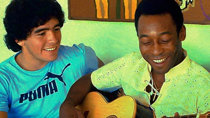 Пеле признался Марадоне в любви