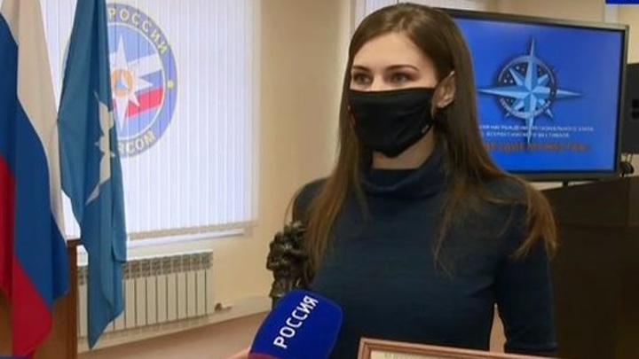 """Корреспондент тульских """"Вестей"""" попала в """"Созвездие мужества"""""""