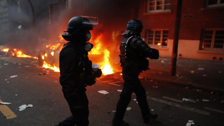 Протесты во Франции: водометы, газ, задержания