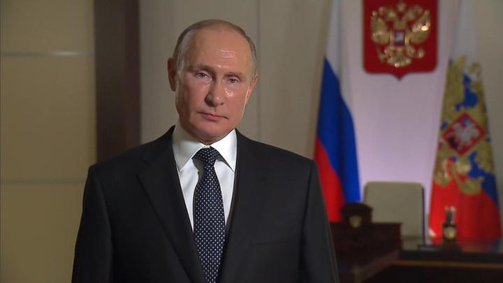 Владимир Путин поздравил россиян с Днем Героев Отечества