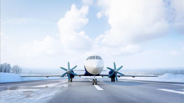 Новая премьера авиастроителей: в небо поднялся гражданский лайнер Ил-114-300