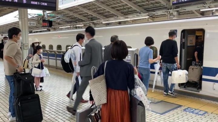 Авария частично парализовала движение поездов в Токио