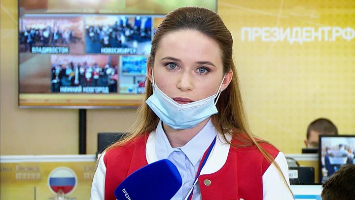 Стало известно, о чем Путин говорил с волонтером Алевтиной накануне пресс-конференции