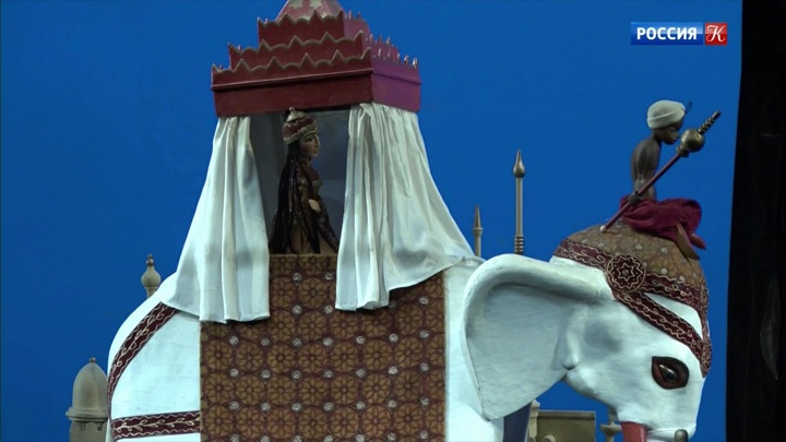 В театре кукол им. Образцова ‒ юбилейные показы спектакля «Волшебная лампа Алладина»