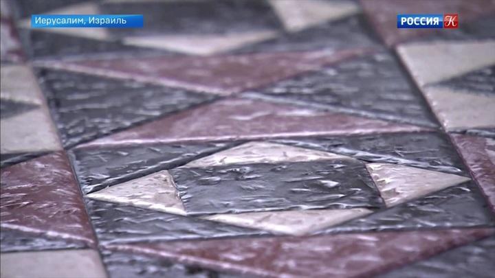 Воссозданы плитки упомянутого в Библии иудейского храма в Израиле