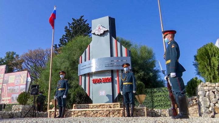В Сирии открыта аллея в честь российских инженерных войск