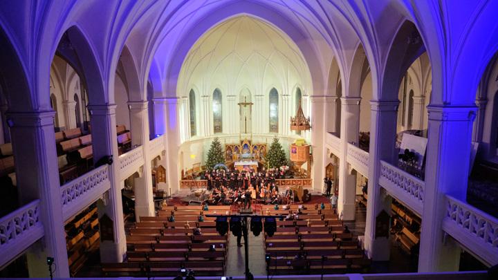 В Кафедральном соборе святых Петра и Павла пройдут праздничные концерты