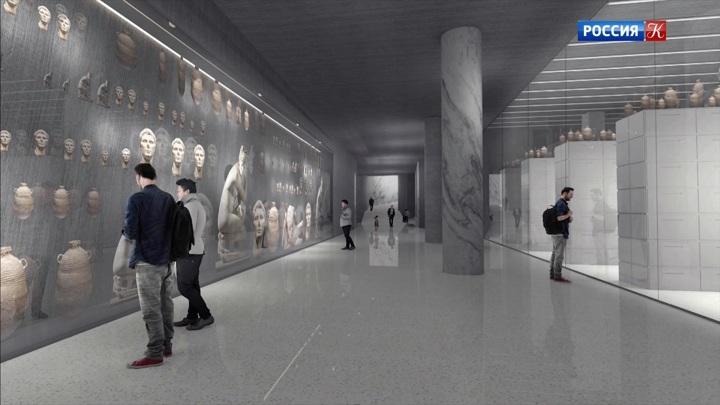 Продолжается строительство музейного квартала ГМИИ имени Пушкина
