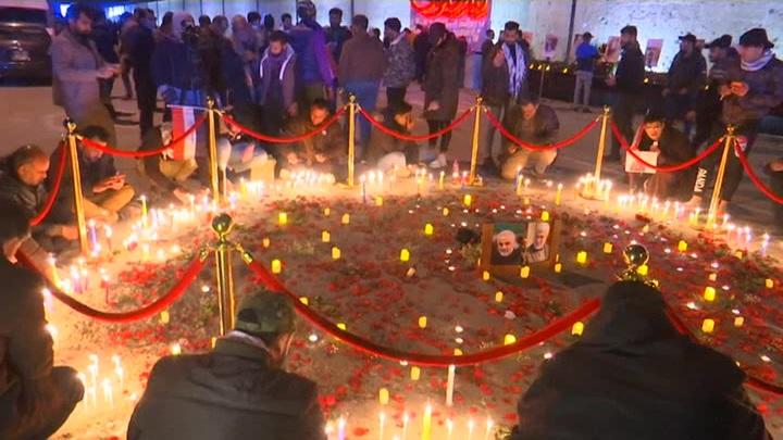 В Багдаде почтили память генерала Касема Сулеймани
