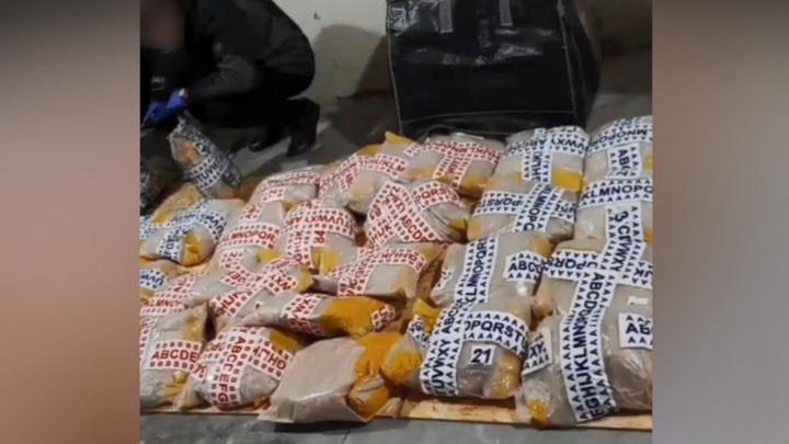Более тонны героина нашли на Украине