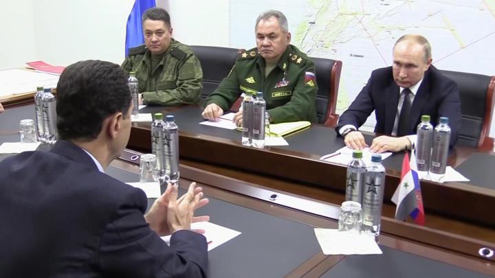 Визит Путина в Дамаск: все подробности секретной операции