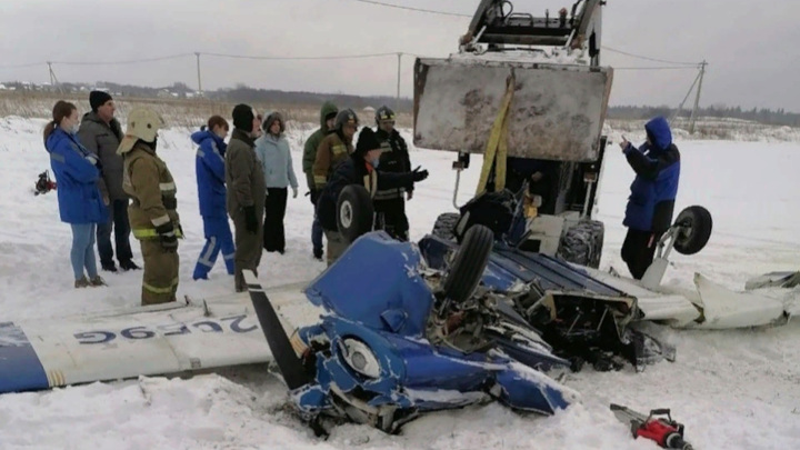 Упавший в Ленобласти самолет столкнулся с другой воздушной машиной