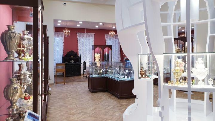 Обновленный музей самоваров вошел в тройку самых посещаемых в Тульской области