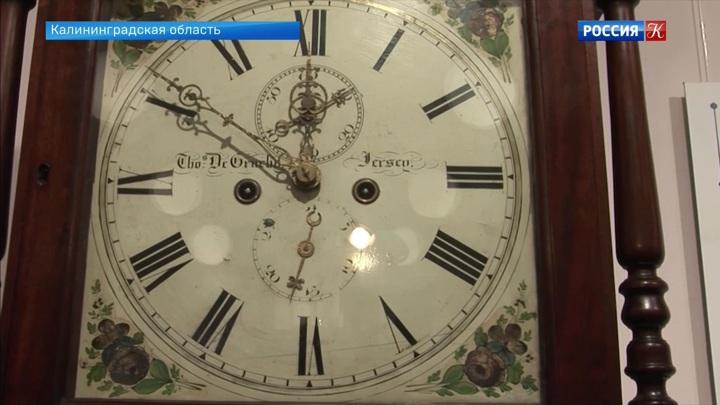 В Калининградской области открылась выставка старинных часов
