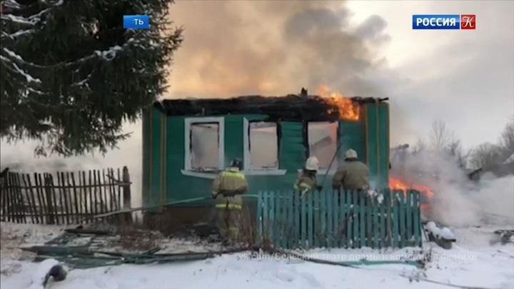 Во Владимирской области сгорел сельский театр драмы и комедии