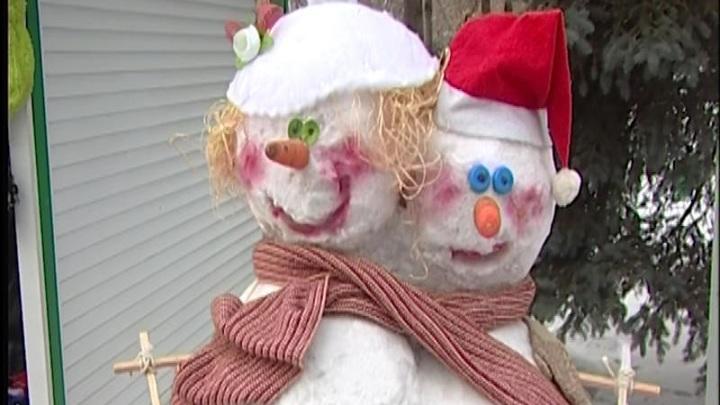 В Красноярске подвели итоги конкурса снеговиков