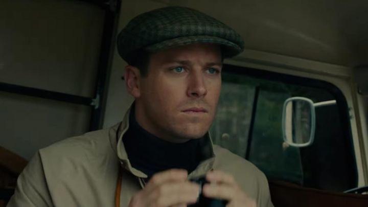 "Арми Хаммер. Кадр из фильма ""Агенты А.Н.К.Л."""