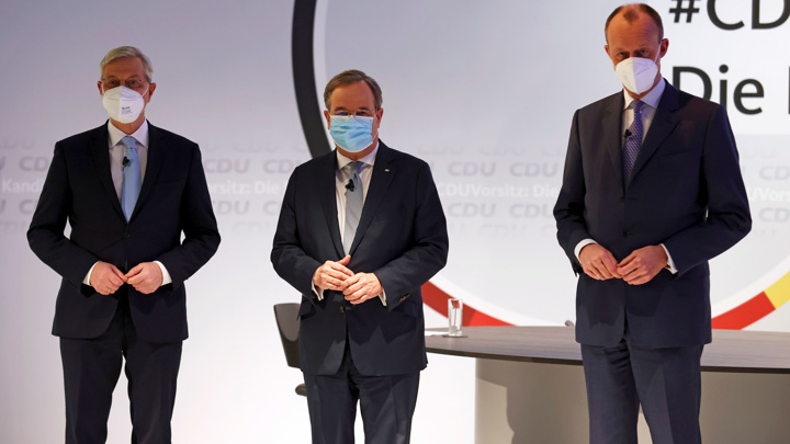 Лидеры ХДС и ХСС не определились, кто будет кандидатом в канцлеры Германии