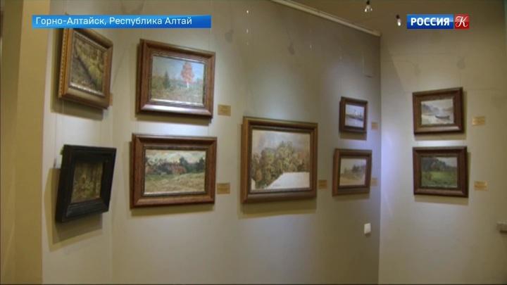 Выставка художника Григория Чорос-Гуркина проходит в Горно-Алтайске