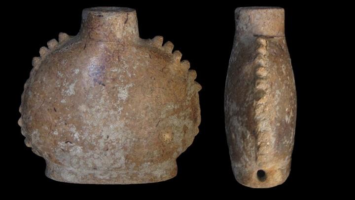 В миниатюрных глиняных сосудах майя держали психоактивные смеси.