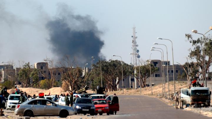 В центре Триполи произошли вооруженные столкновения