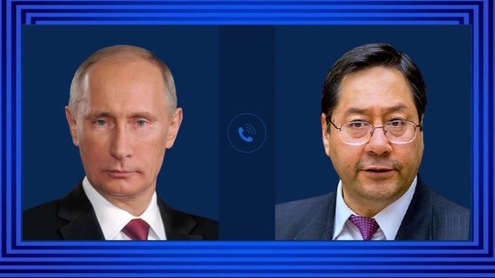 Президенты России и Боливии обсудили борьбу с коронавирусом