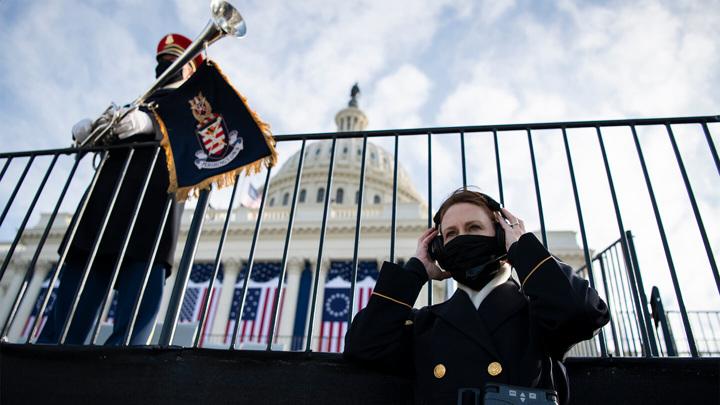 Ситуация в Вашингтоне накануне инаугурации Байдена спокойная