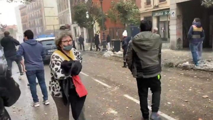 Посольство России: при взрыве в Мадриде россияне не пострадали