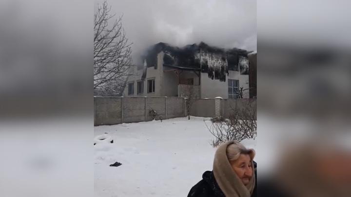 В украинском доме престарелых сгорели 15 человек