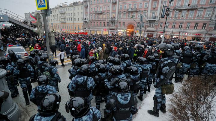Дело об акции 23 января: Мосгортранс и метро признаны потерпевшими
